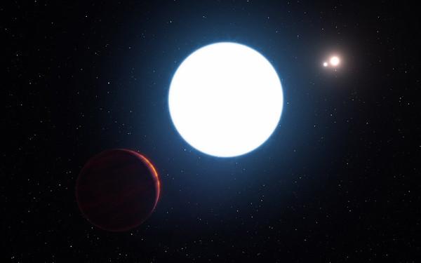 找到你了!科学家发现现实版三体星系 - 双梅 - 张静华