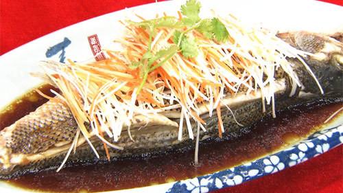 《养生厨房》橄榄油豉汁鲈鱼 - 双梅 - 张静华