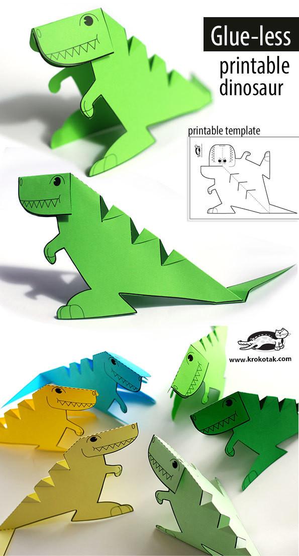 幼儿手工恐龙制作方法