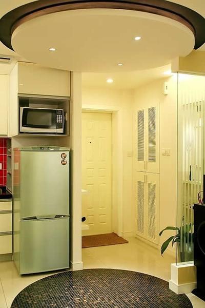 这套90平房子装修效果图是适合80后小夫妻的经济适用房,但是里面的