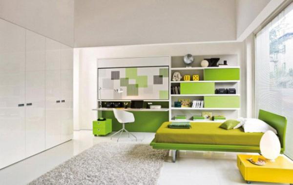 卧室一秒变客厅 小小壁床造福小户型