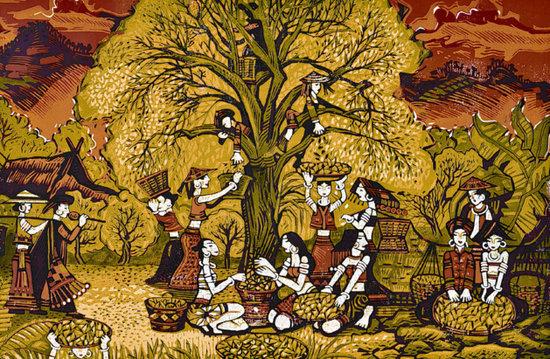 """绝版木刻版画""""茶马古道的记忆"""":将茶马传奇刻进木头"""