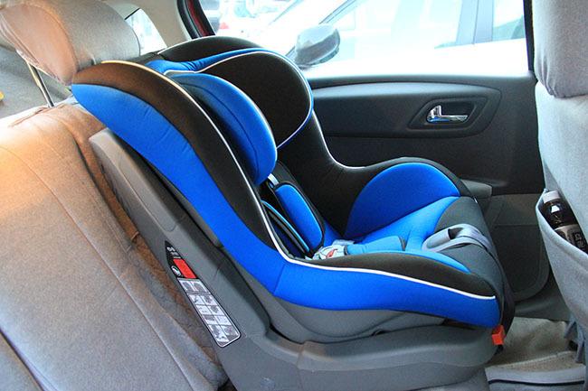 isofix儿童座椅接口支架安装