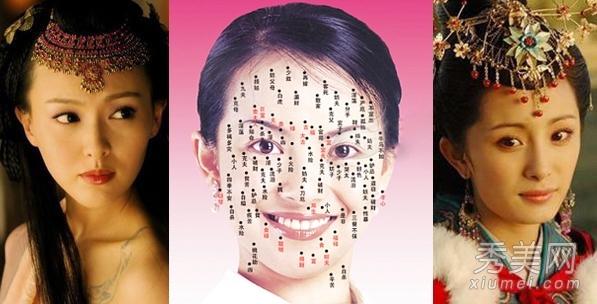 专题:痣相痣相图解面相分析相术吉痣男人面相女人