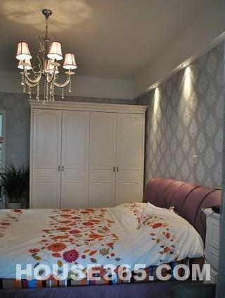 4万元装修90平米温馨两居室小户型