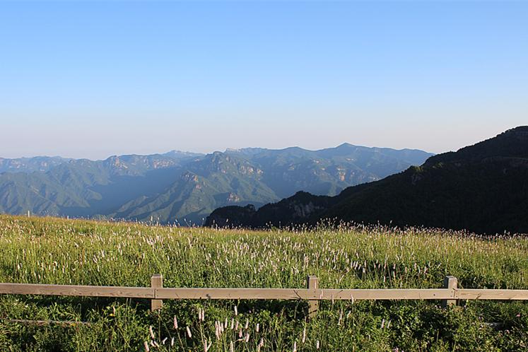 历山风景区位于山西省垣曲县东