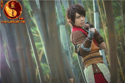 《画江湖之灵主》手游官方cosplay发布图片