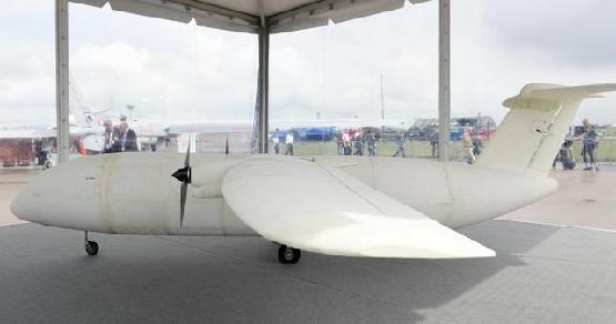 空中客车展出全球第一架3d打印飞机