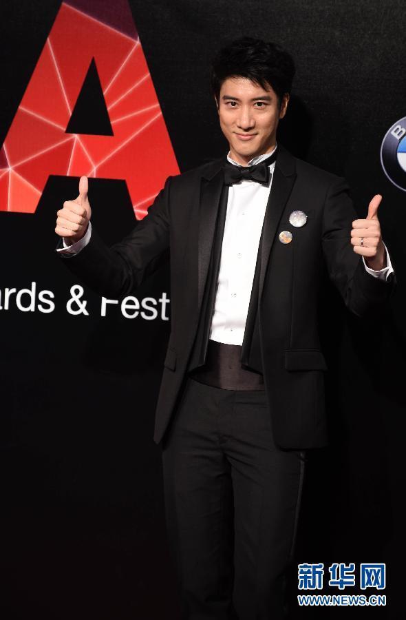 第26届金曲奖颁奖典礼台北举行 周杰伦蔡依林出席