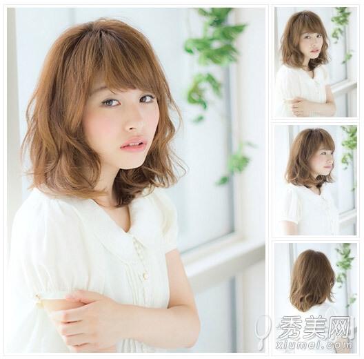 style12 发型点评:轻盈的刘海露出半截额头,既能修饰脸型又能展现出