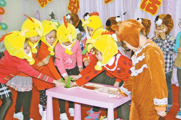 幼儿表演童话剧