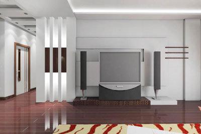 现代风格电视背景墙 简约彰显品位-装修图网-装修效果