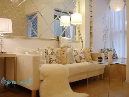 大气北欧风格家具 50平米小户型装修案例