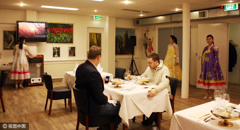 从柳京到海棠花 朝鲜驻外餐厅的日常生活,北京海棠花