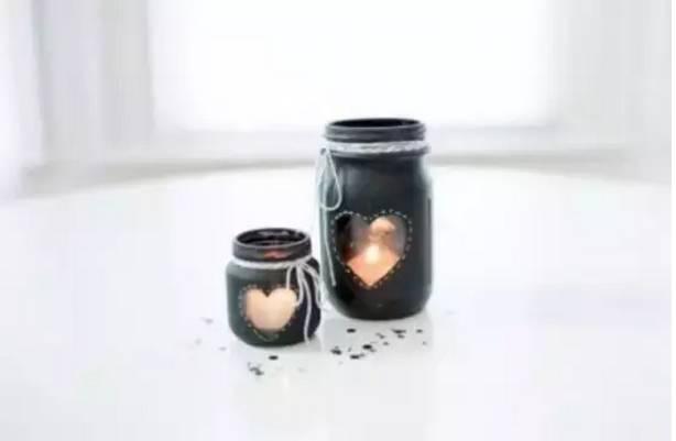罐头瓶,废旧瓶子手工制作创意家居收纳盒diy大全!