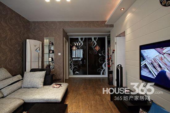 样板 房设计   现代简欧风格房屋装修 样板间   长沙实创装