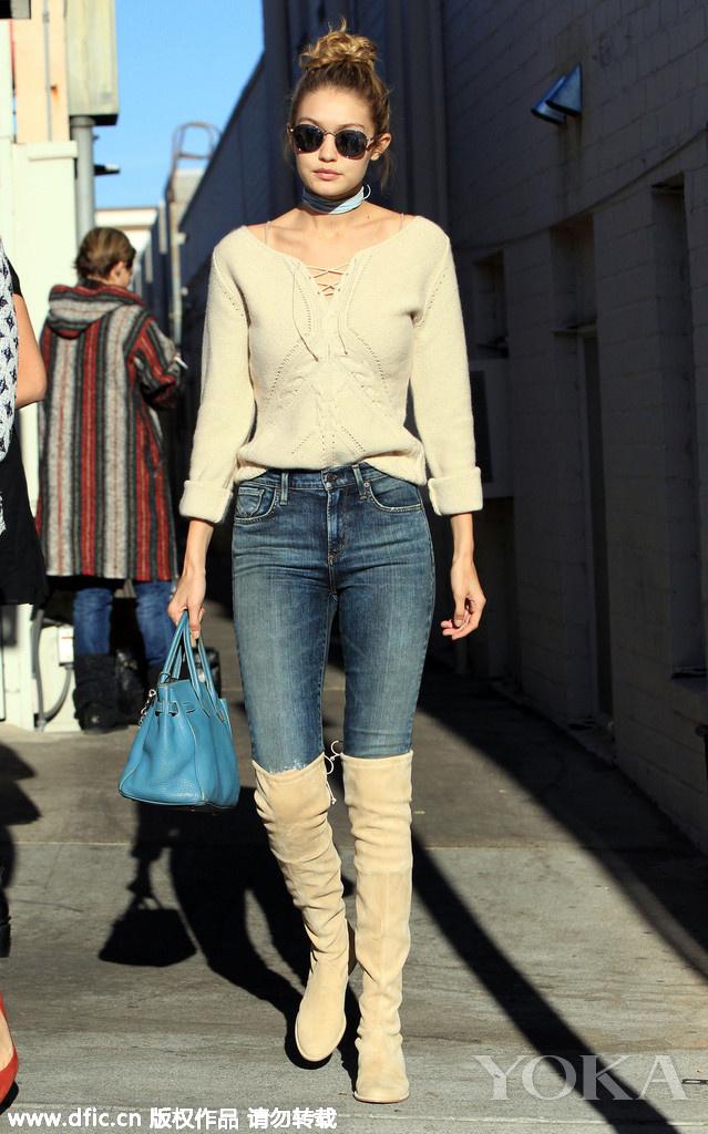 众女星深冬街拍精选 抵得住寒风秀得了时髦,街拍控